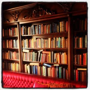 Peruke & Periwig bookshelves