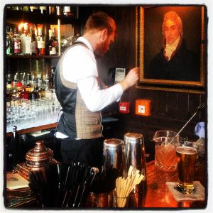 Peruke & Periwig barman