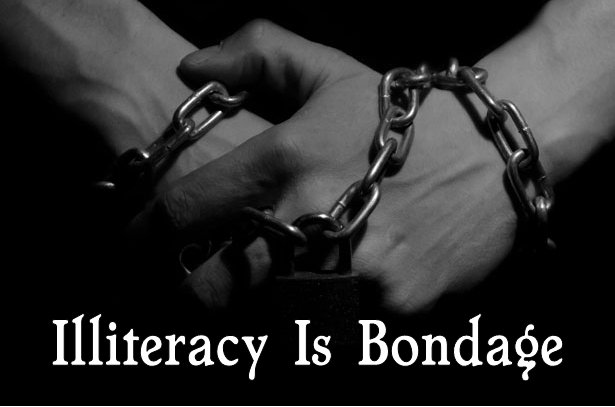 illiteracy-is-bondage